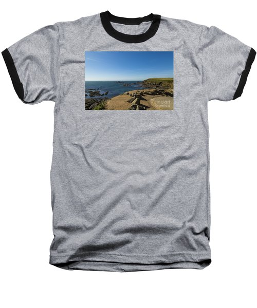 Baseball T-Shirt featuring the photograph The Lizard Point by Brian Roscorla