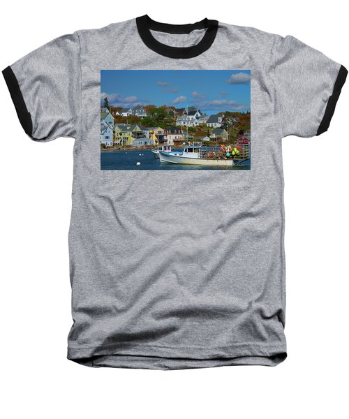 The Lobsterman's Shop Baseball T-Shirt