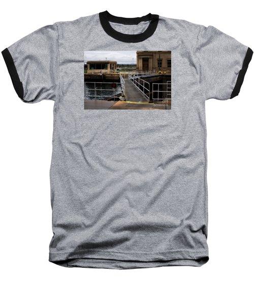 The Locks At Sault Ste Marie Michigan Baseball T-Shirt