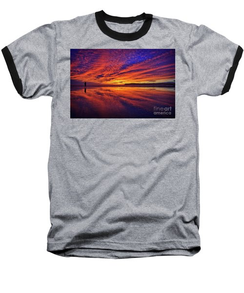 The Lone Photographer Baseball T-Shirt
