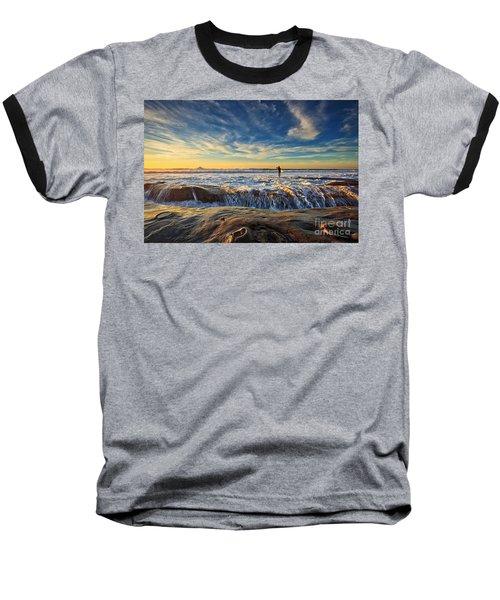 The Lone Surfer Baseball T-Shirt