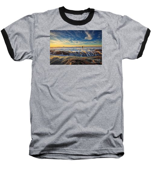 The Lone Surfer Baseball T-Shirt