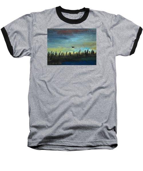 The Loner Baseball T-Shirt by R Kyllo