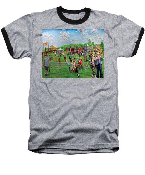 The Long Island Fair At Old Bethpage Restoration Baseball T-Shirt