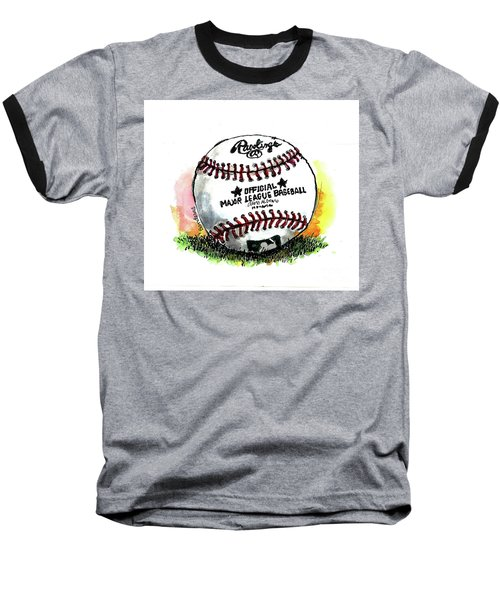 The Long Season Begins Baseball T-Shirt