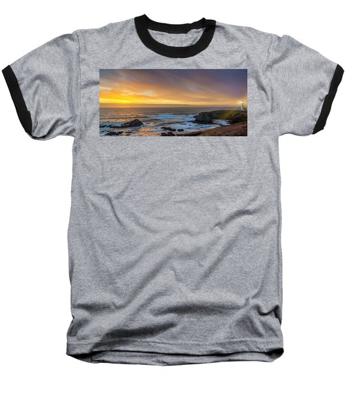 The Long View Baseball T-Shirt by James Heckt