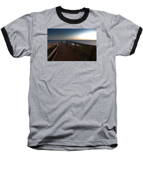 Baseball T-Shirt featuring the photograph The Long Walk Home by Renee Hardison