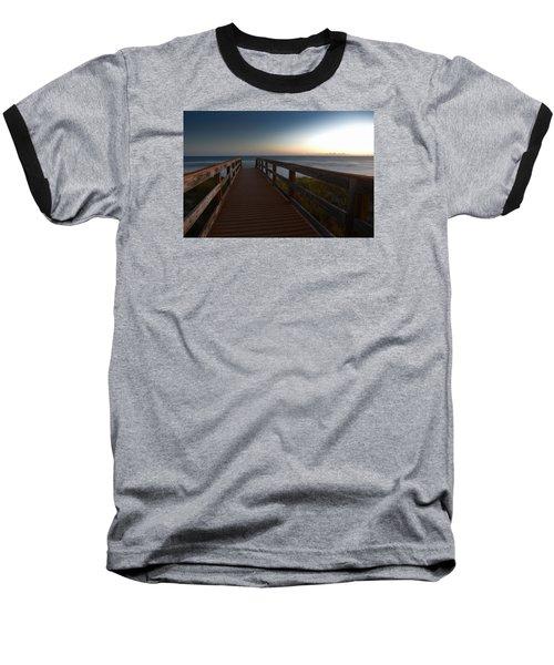 The Long Walk Home Baseball T-Shirt by Renee Hardison