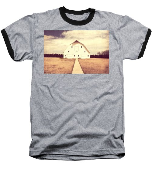 Baseball T-Shirt featuring the photograph The Long Walk by Julie Hamilton
