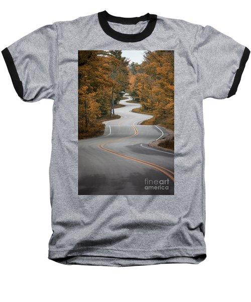 The Long Winding Road Baseball T-Shirt