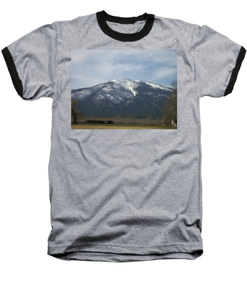 Baseball T-Shirt featuring the photograph The Longshed by Jewel Hengen
