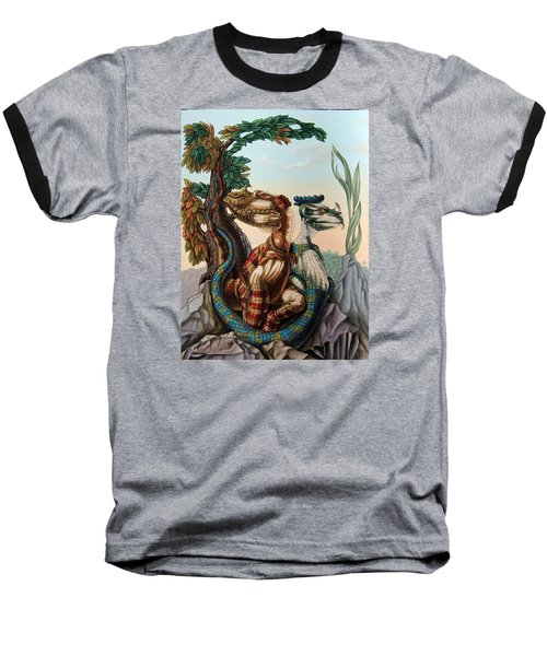 The Lost World  By Sir Arthur Conan Doyle Baseball T-Shirt