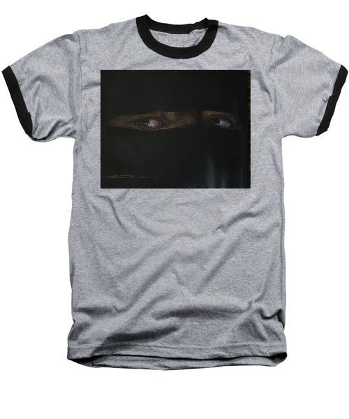 The Lovely Bride Hyphemas Portrait Baseball T-Shirt