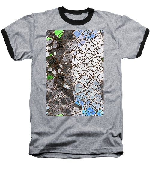 Baseball T-Shirt featuring the digital art The Lovely Spider by Wendy J St Christopher