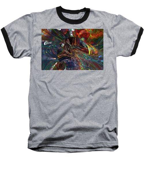 The Lucid Planet Baseball T-Shirt by Richard Thomas