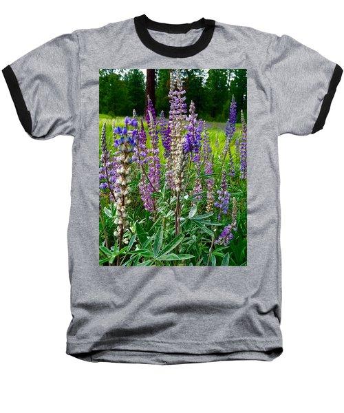 The Lupine Crowd Baseball T-Shirt