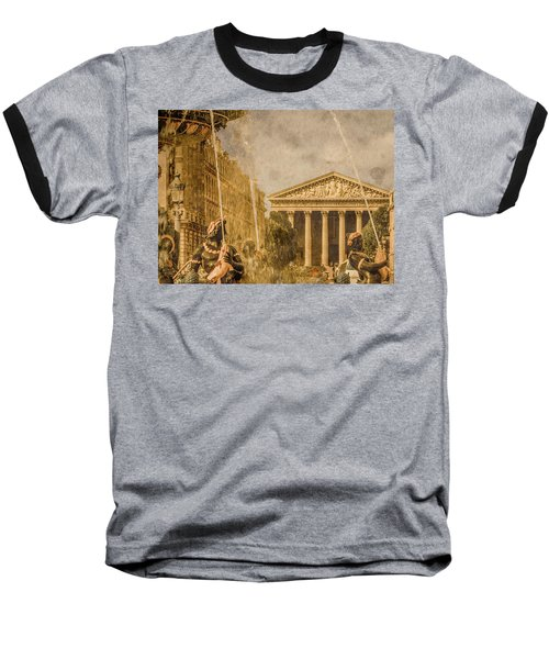 Paris, France - The Madeleine Baseball T-Shirt