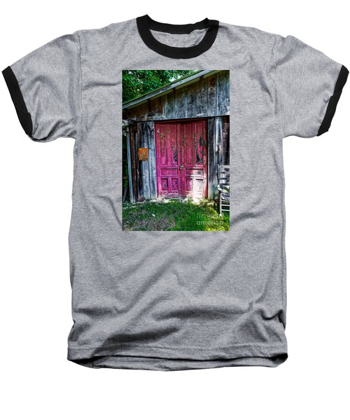 The Magenta Doors Baseball T-Shirt