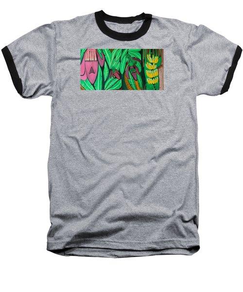 The Magic Of Banana Blossoms Baseball T-Shirt by Lorna Maza
