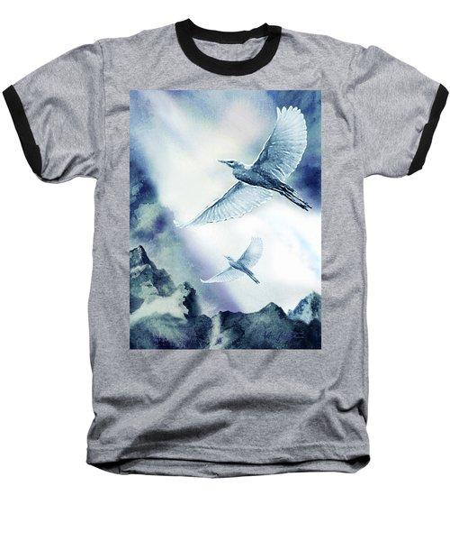 The Magic Of Flight Baseball T-Shirt by Hartmut Jager