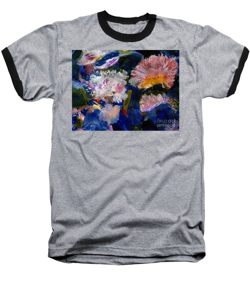 The Magic Of Flowers Baseball T-Shirt by Nancy Kane Chapman