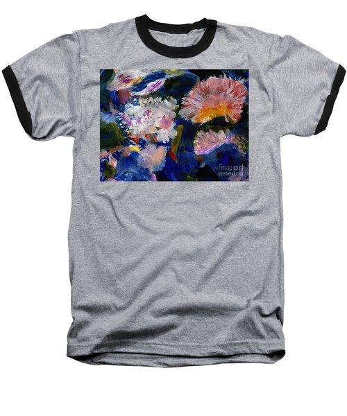 The Magic Of Flowers Baseball T-Shirt