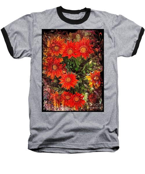 The Magical Flower Garden Baseball T-Shirt