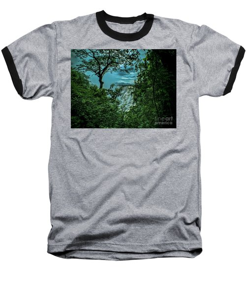 Baseball T-Shirt featuring the photograph The Majestic Victoria Falls by Karen Lewis