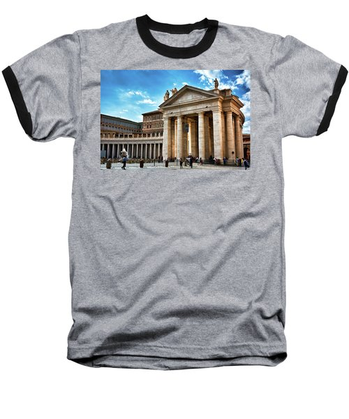 The Majesty Of The Tuscan Colonnades Baseball T-Shirt