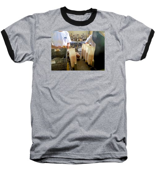 Baseball T-Shirt featuring the photograph The Making Of A Puka Dog by Brenda Pressnall