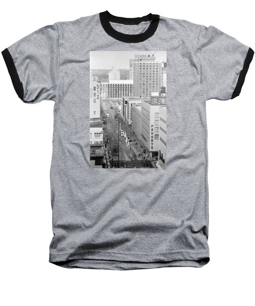 The Mall From Dayton's 12th Floor Baseball T-Shirt