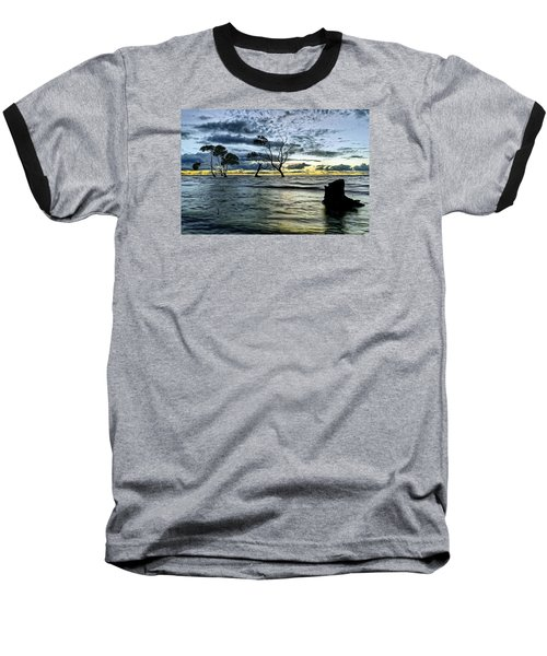 The Mangrove Trees Baseball T-Shirt by Robert Charity