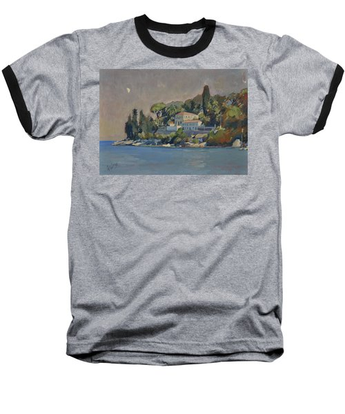 The Mansion House Paxos Baseball T-Shirt by Nop Briex