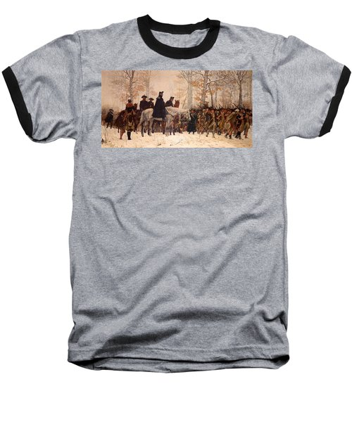 The March To Valley Forge Baseball T-Shirt