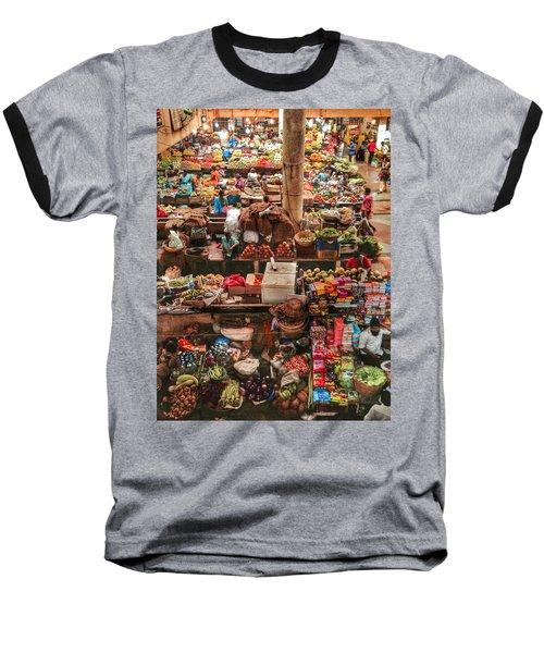 The Market Baseball T-Shirt