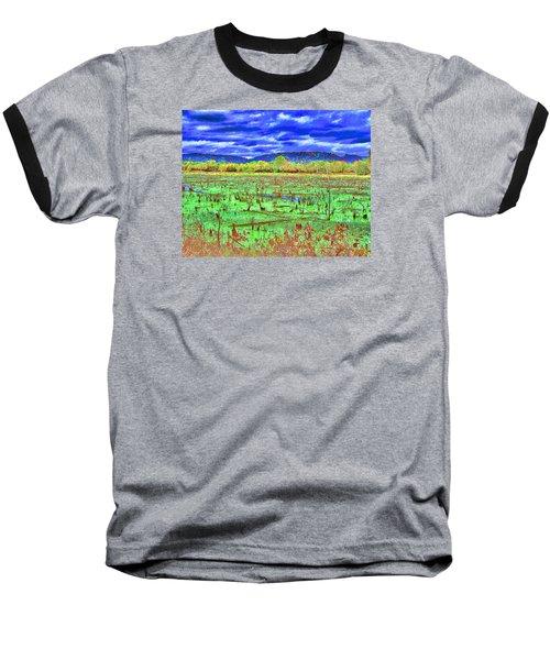 The Marshlands Baseball T-Shirt by B Wayne Mullins