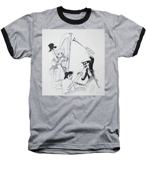 The Marx Brothers O Baseball T-Shirt
