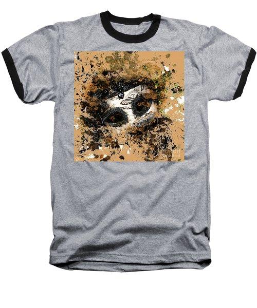 The Mask Of Fiction Baseball T-Shirt