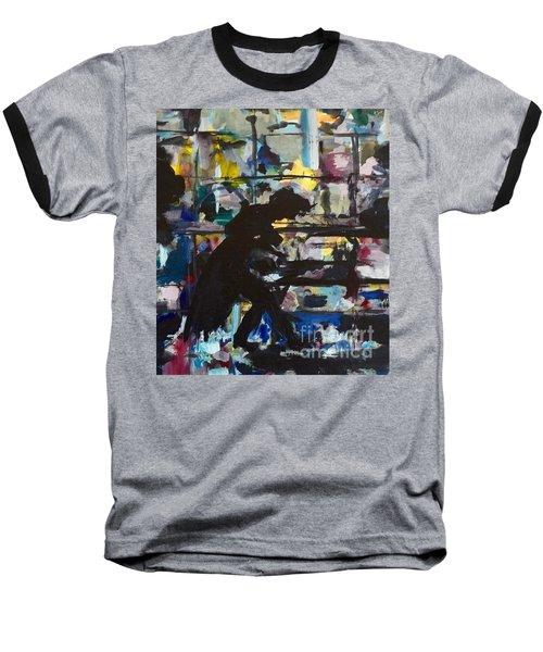 The Master Baseball T-Shirt by Ellen Anthony