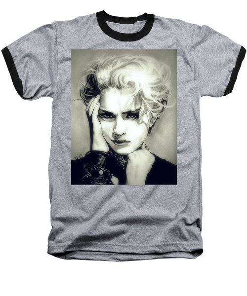The Material Girl Baseball T-Shirt by Fred Larucci
