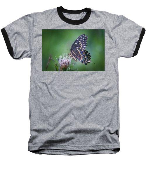 The Mattamuskeet Butterfly Baseball T-Shirt