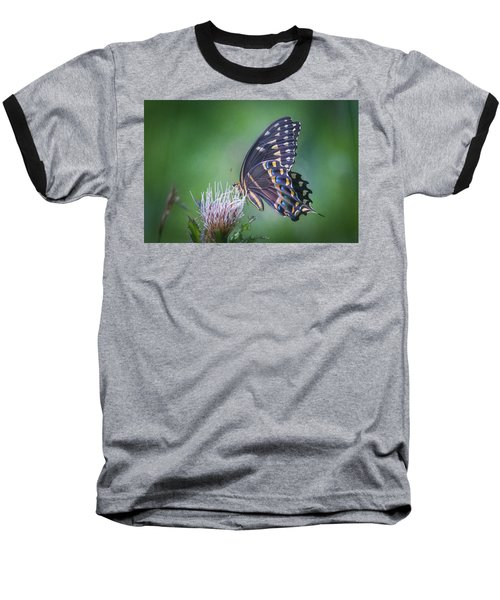 The Mattamuskeet Butterfly Baseball T-Shirt