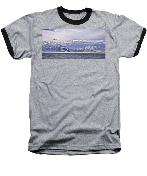 The Mediterranean Coast Baseball T-Shirt