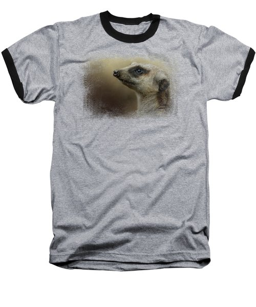 The Meerkat Baseball T-Shirt by Jai Johnson