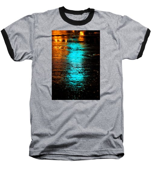The Memory Lane II Baseball T-Shirt by Prakash Ghai