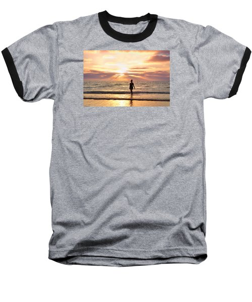 Baseball T-Shirt featuring the photograph The Mermaid by Rima Biswas