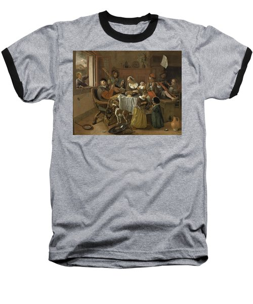 The Merry Family,1668 Baseball T-Shirt