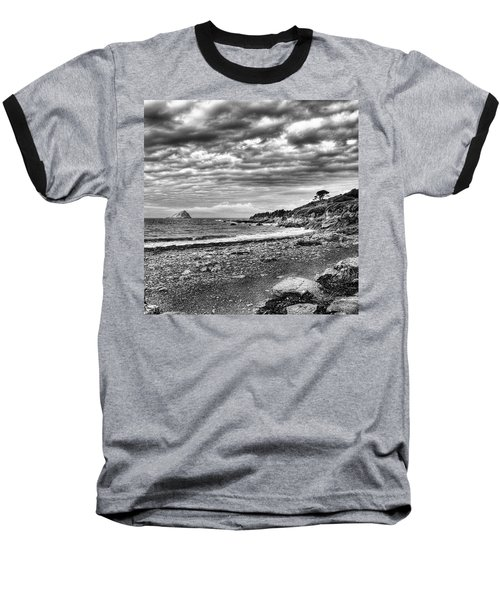The Mewstone, Wembury Bay, Devon #view Baseball T-Shirt