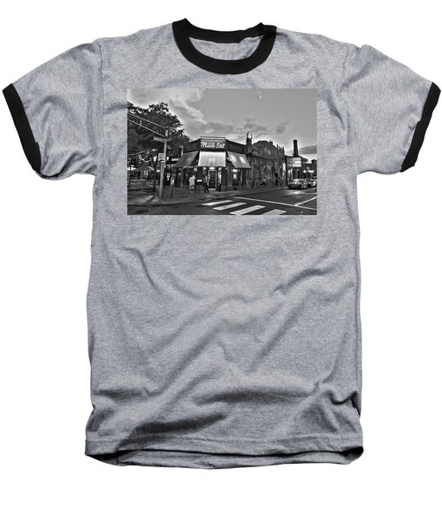 The Middle East In Central Square Cambridge Ma Black And White Baseball T-Shirt