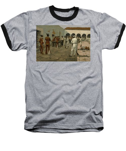 The Mier Expedition The Drawing Of The Black Bean  Baseball T-Shirt
